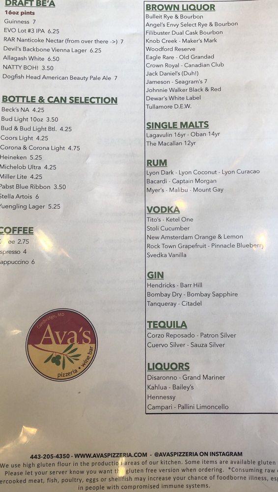 Ava's Pizzeria & Wine Bar - 34 Photos & 18 Reviews - Pizza