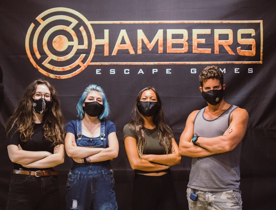 Social Spots from Chambers Escape Games