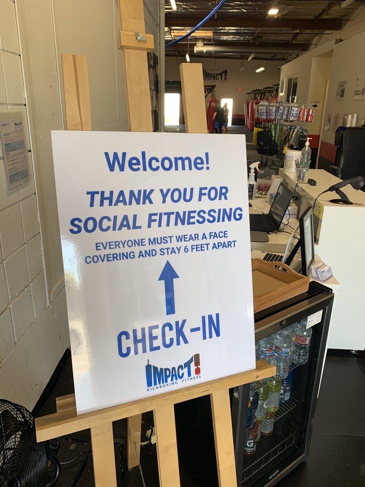 Social Spots from IMPACT Kickboxing Fitness