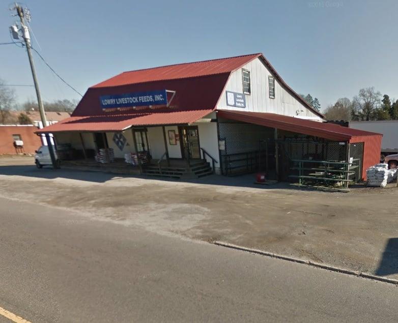 Lowry Livestock Feed: 3300 Harmony Hwy, Harmony, NC