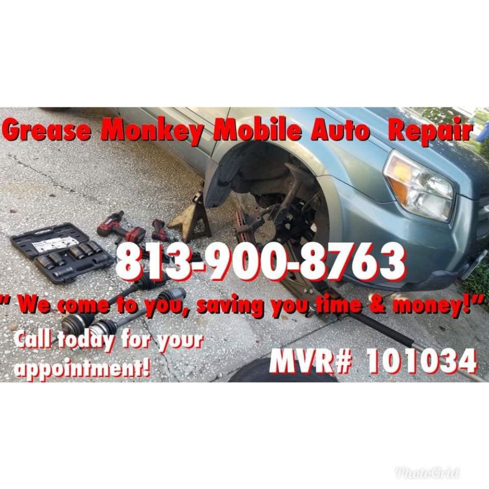 Grease Monkey Mobile Auto Repair: Riverview, FL