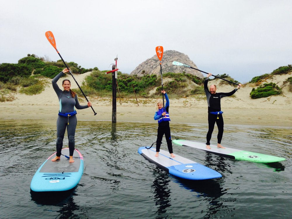 Morro Bay Stand Up Paddleboarding