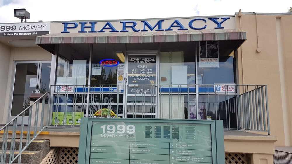 Mowry Medical Pharmacy: 1999 Mowry Avenue, Fremont, CA