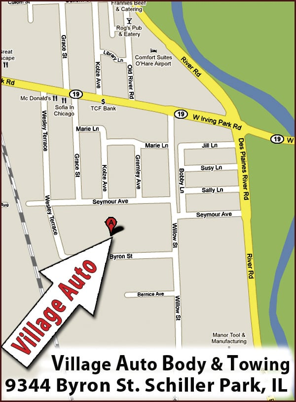 Here 39 s a map to our shop yelp for Park place motors service