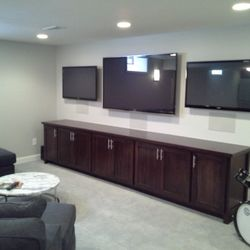 Photo Of Basements Unlimited   Upper Arlington, OH, United States. Basement  Media Room