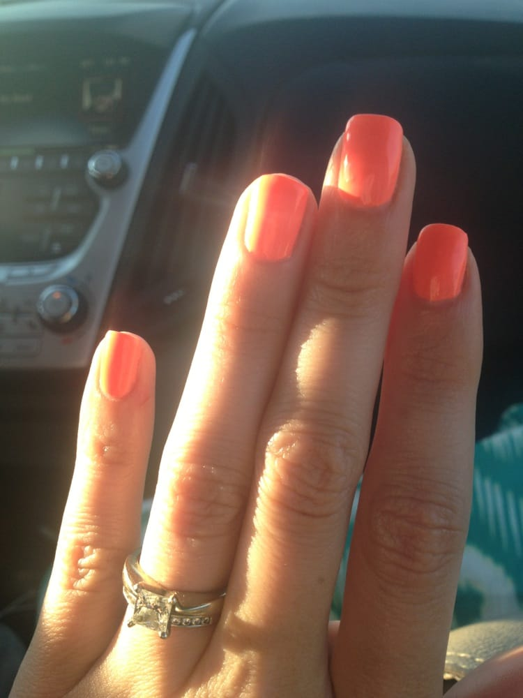 Great selection of no-chip colors!!! Summery tangerine! - Yelp