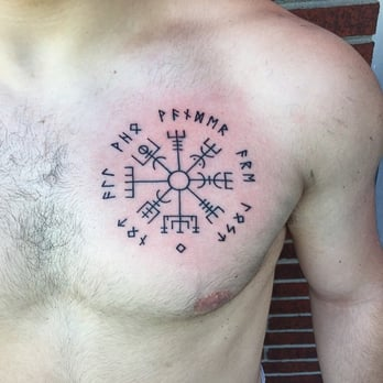 f9ea1f0a76c1c Photo of Tattooed Heart Studio - Hanover, MD, United States. Vegvisir Tattoo  done