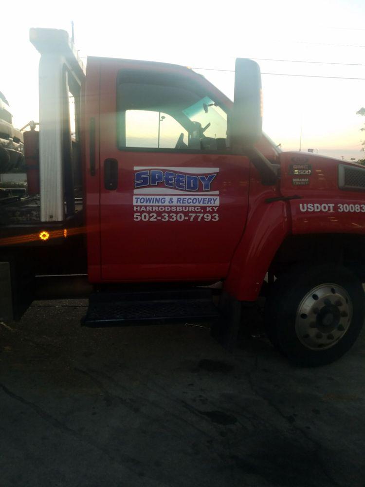 Speedy Towing & Recovery: Harrodsburg, KY