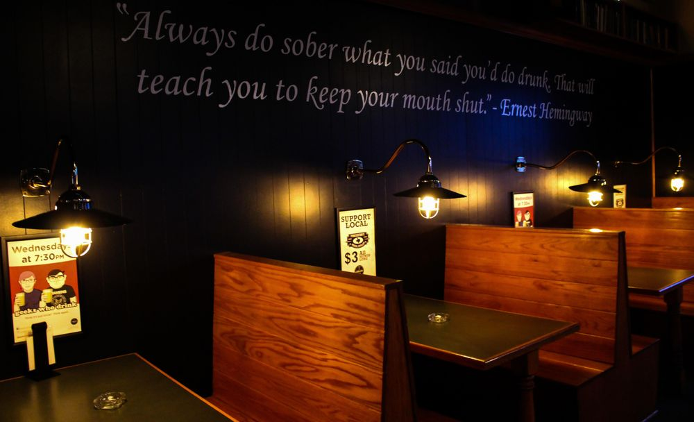 The Library Bar Lubbock: 1701 Texas Ave, Lubbock, TX