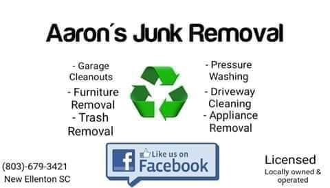 Aaron's Junk Removal & Appliance Repair: New Ellenton, SC