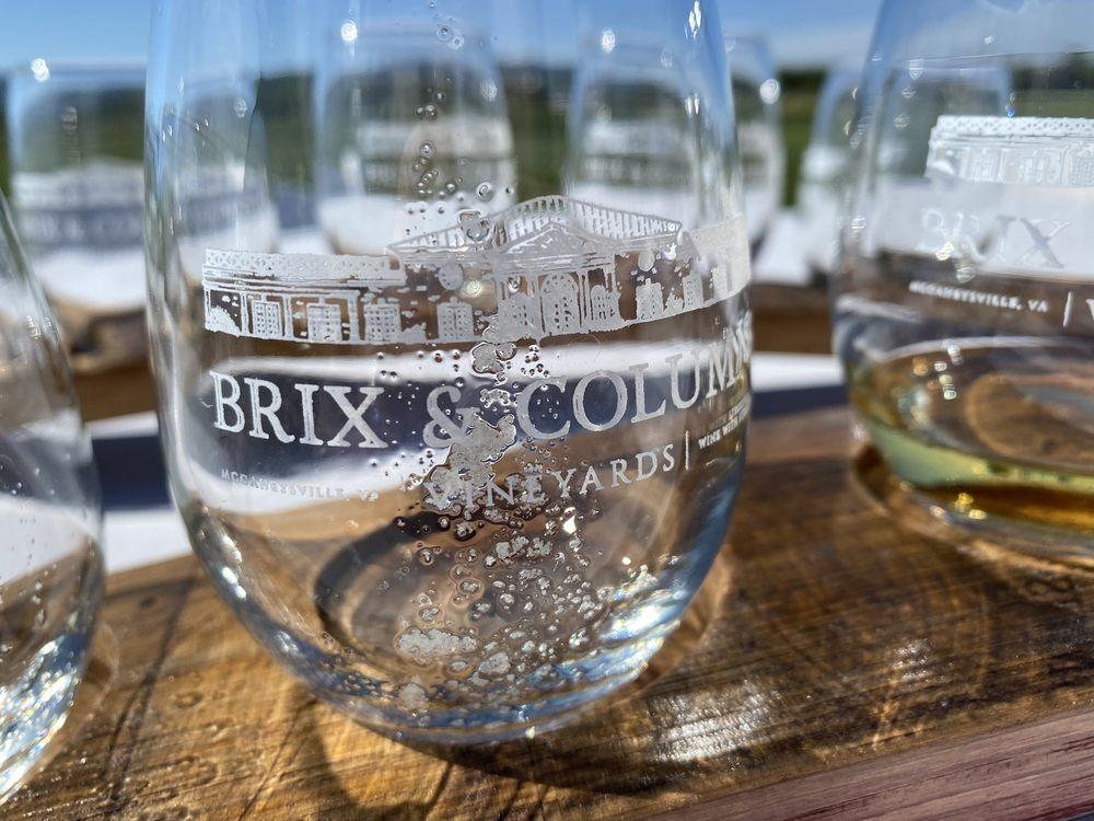 Brix and Columns Vineyards: 1501 Dave Berry Rd, McGaheysville, VA