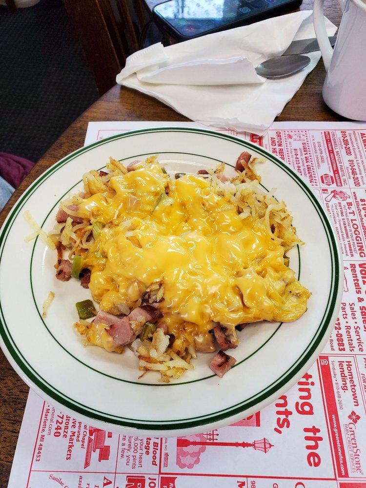 Tripple J Cafe: 4020 E Chandler St, Carsonville, MI