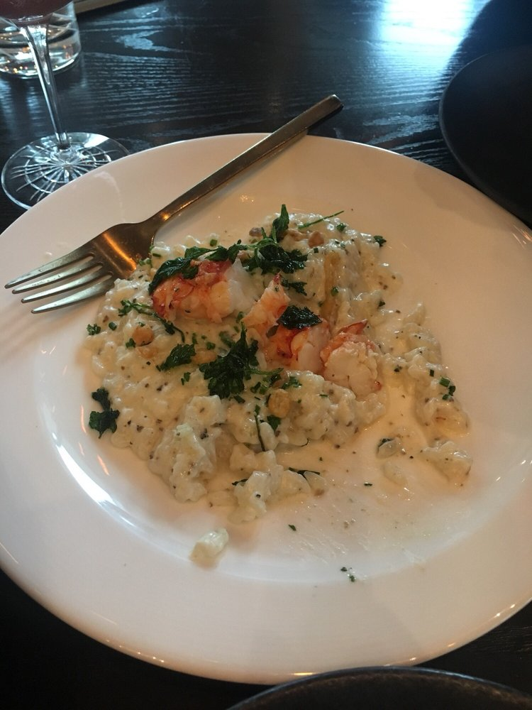 Lobster Risotto Very Flavorful Yelp