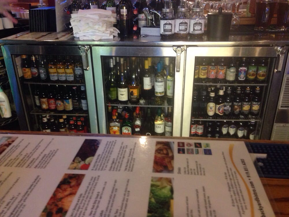 photo of backyard bistro raleigh nc united states bottled beers