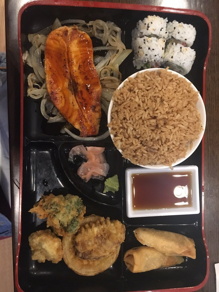Food from Kampachi Japanese Steakhouse