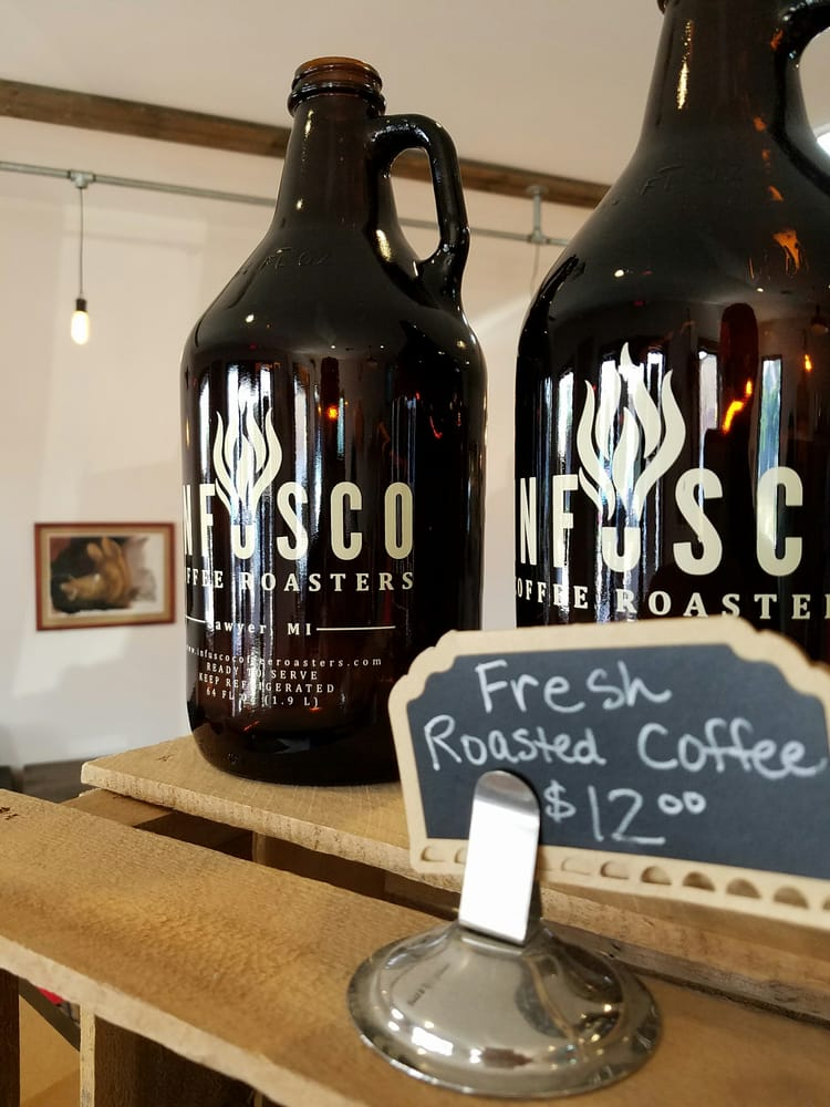 Infusco Coffee Roasters: 5846A Sawyer Rd, Sawyer, MI