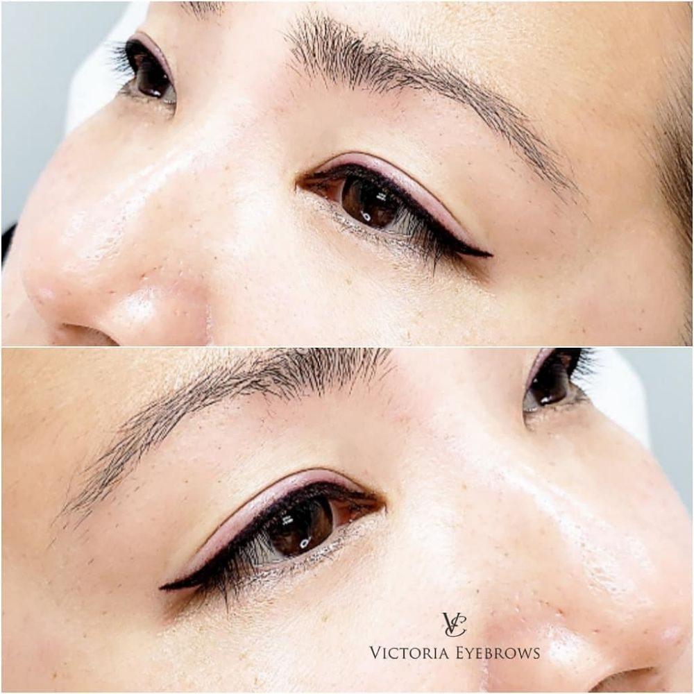 Victoria Augenbrauen