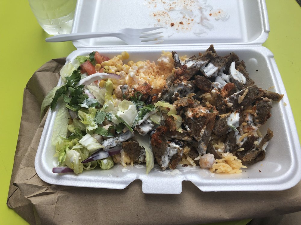 Rafiqi's Delicious Food: 17th St & Broadway, New York, NY