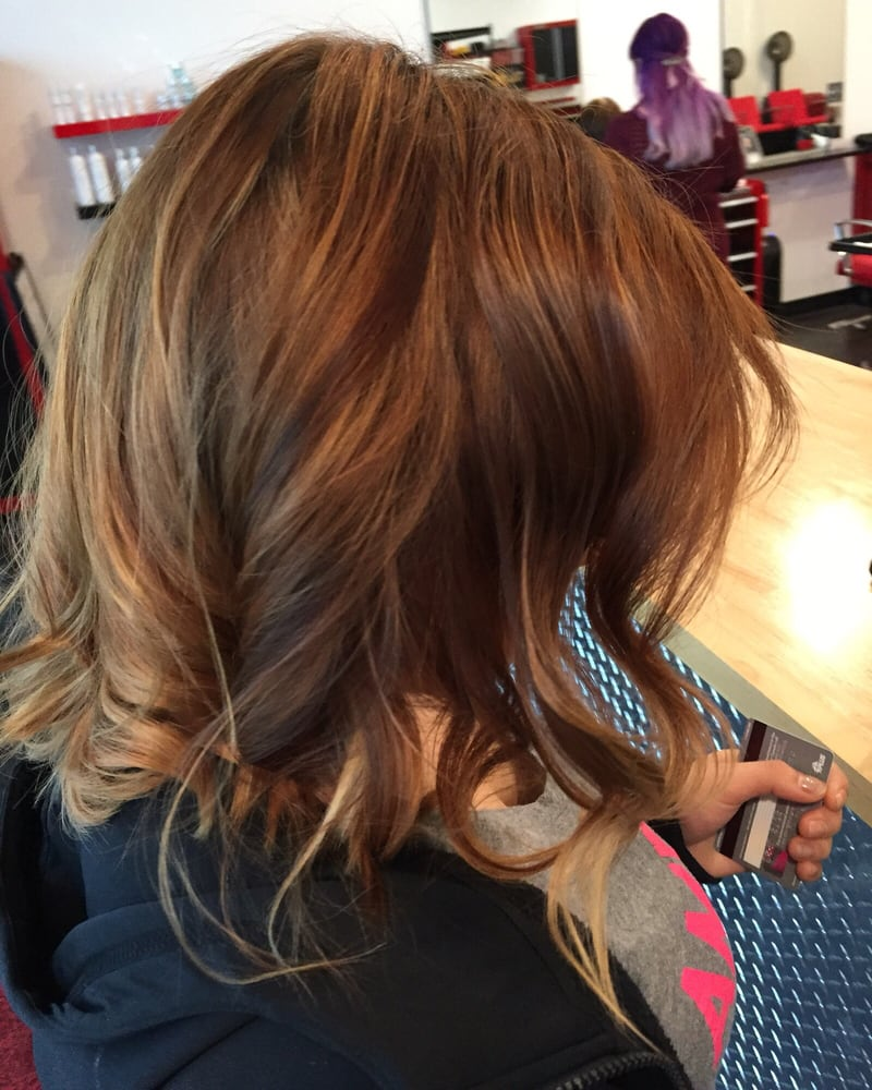 Highlights With A Little Bit Of Ombre At The End Yelp