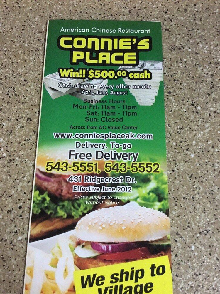 Connie's Place: 700 Chief Eddie Hoffman Hwy, Bethel, AK
