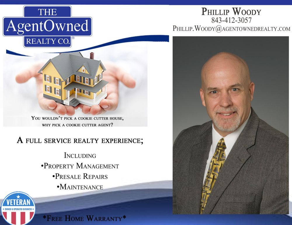 Phillip Woody - Agent Owned Realty: 1800 Old Trolley Rd, Summerville, SC