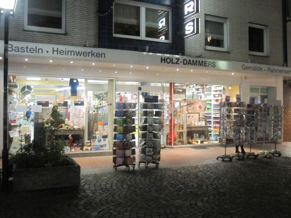 Holz dammers hobbywinkels neustr 25 27 moers for Holz dammers