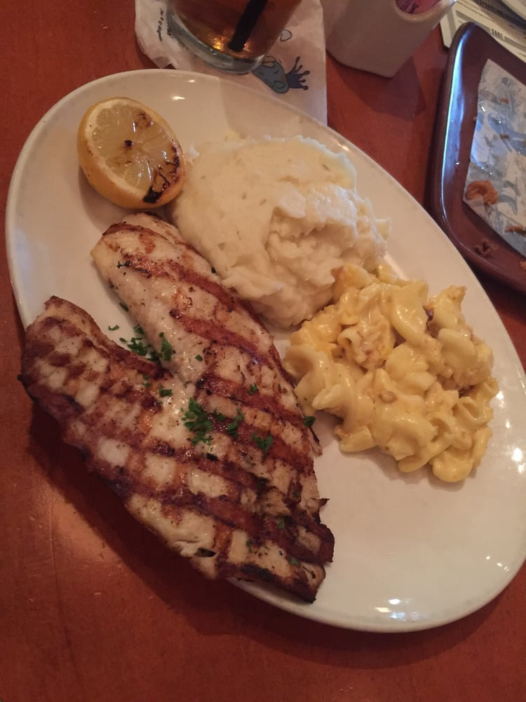 Tilapia grilled with mash mac yelp for Kings fish calabasas