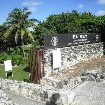 Resultado de imagen para Zona Arqueológica El Rey