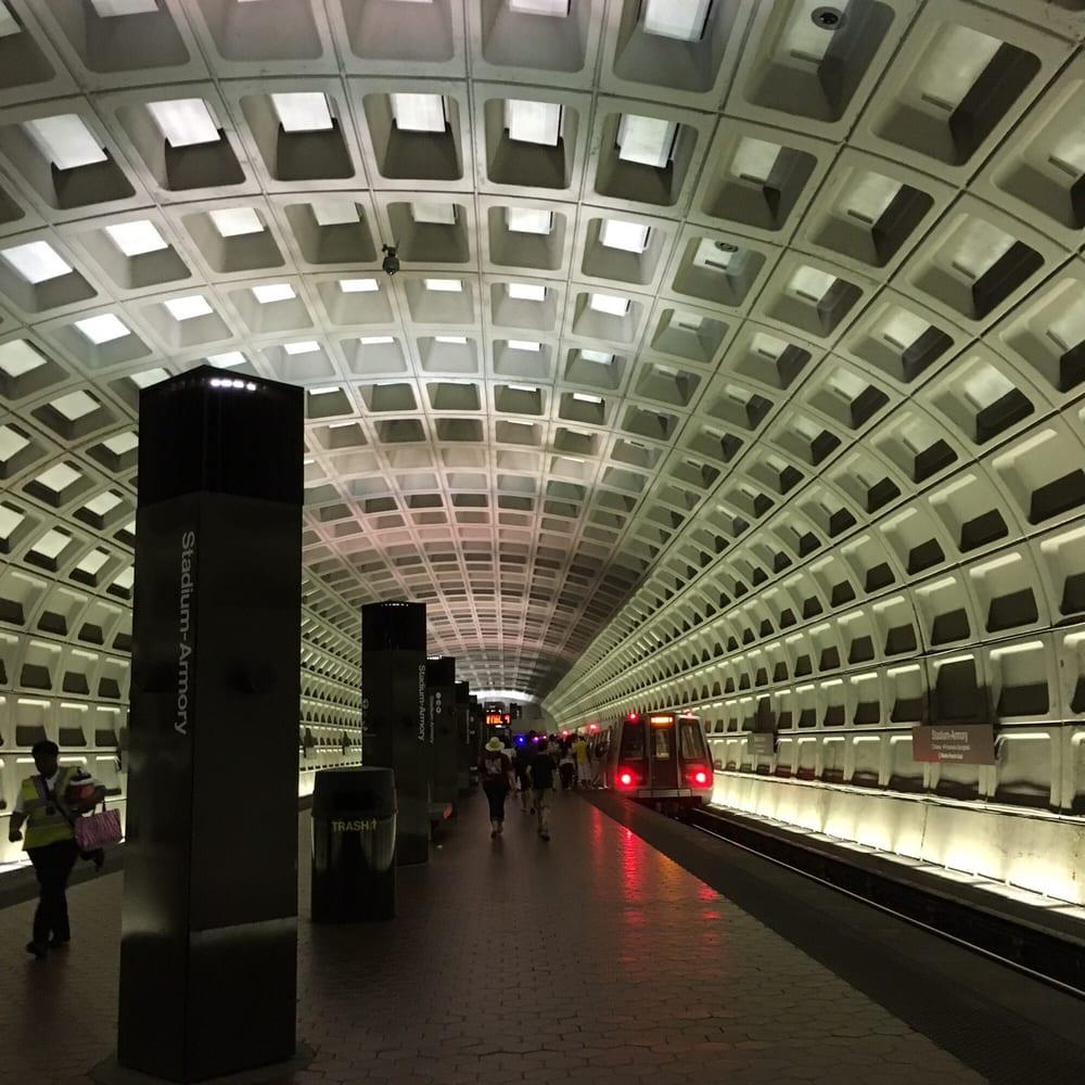 Stadium armory metro station public transportation