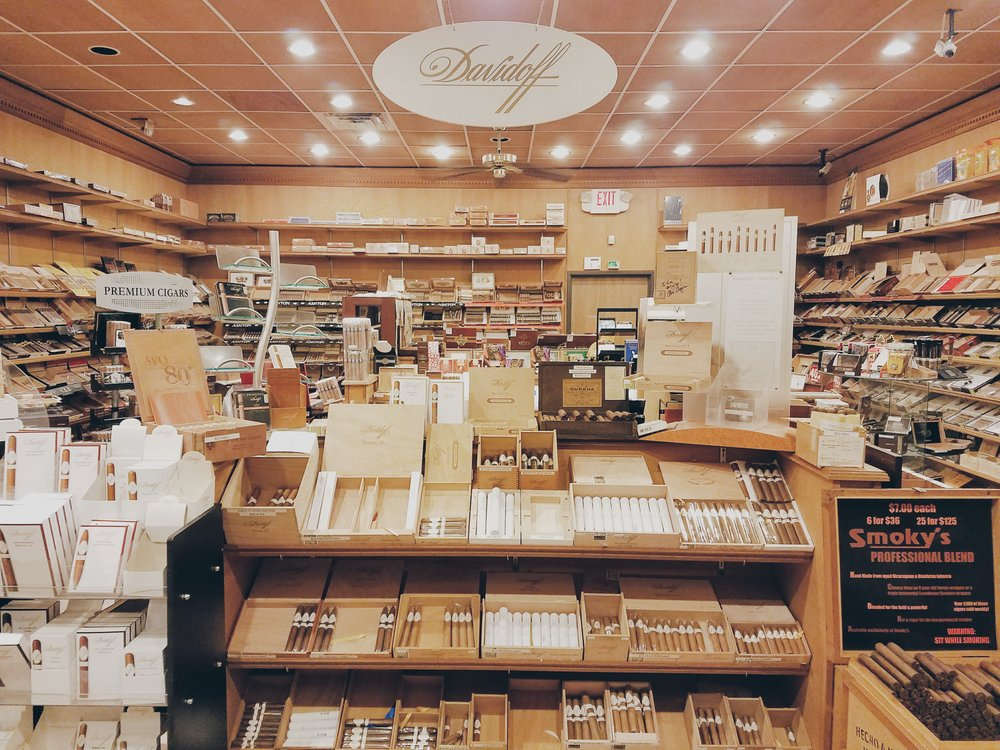 Smoky's Fine Cigars Bloomfield Hills: 42919 Woodward Ave, Bloomfield Hills, MI