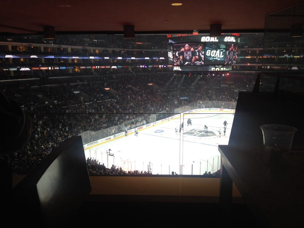 View Of The Ice From The American Express Lounge In