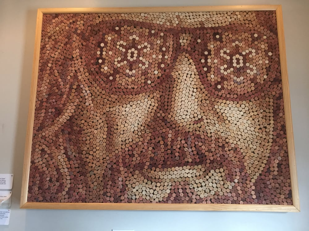 Moxie Burger - Marietta, GA, United States. Wall art-- Big Lebowski