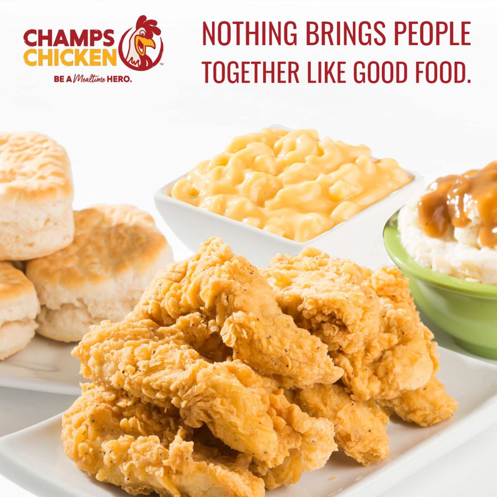 Champs Chicken: 1803 Hwy 2 E, Devils Lake, ND