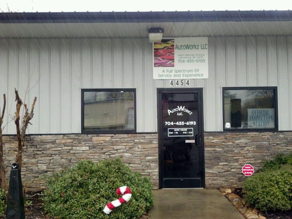 Autoworkz: 4454 Railroad Ave, Harrisburg, NC