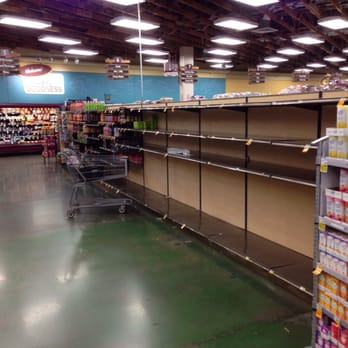 Photo Of Fred Meyer   Portland, OR, United States. Empty Water Aisle After
