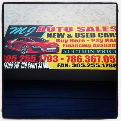 Mj Auto Sales >> Mj Auto Sales Car Dealers 14190 Sw 139th Ct Miami Fl