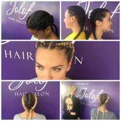 Jolof hair salon 552 photos 144 reviews hair salons 1027 s photo of jolof hair salon los angeles ca united states two cornrows pmusecretfo Image collections