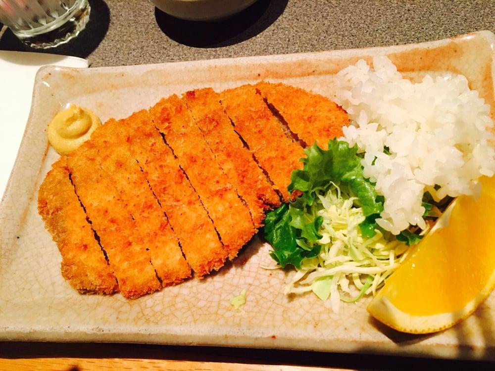 Tonkatsu yelp for Akane japanese fusion cuisine