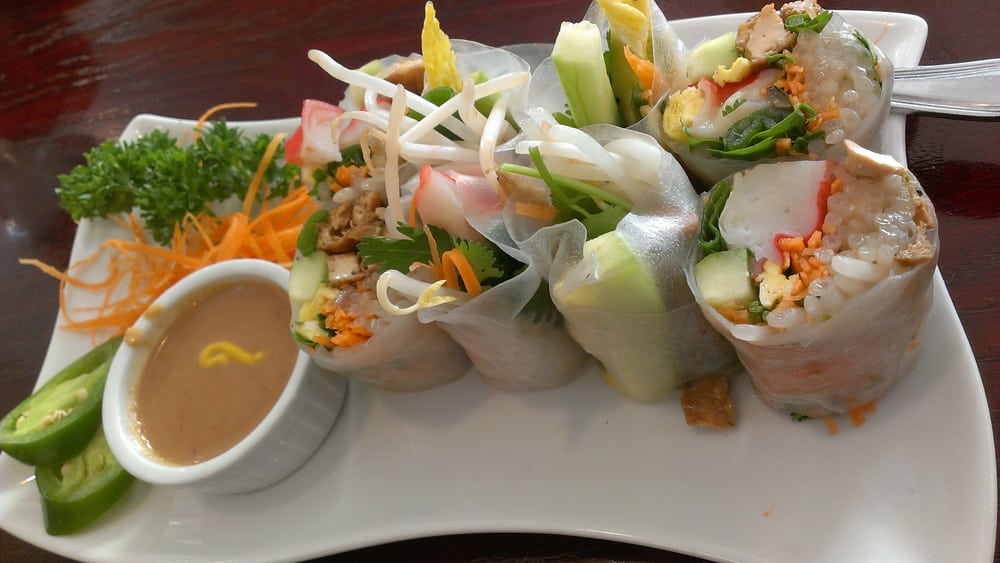 Imitation crab spring roll yelp for Amarin thai cuisine
