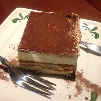 Olive Garden's tiramisu which is obviously from Costco