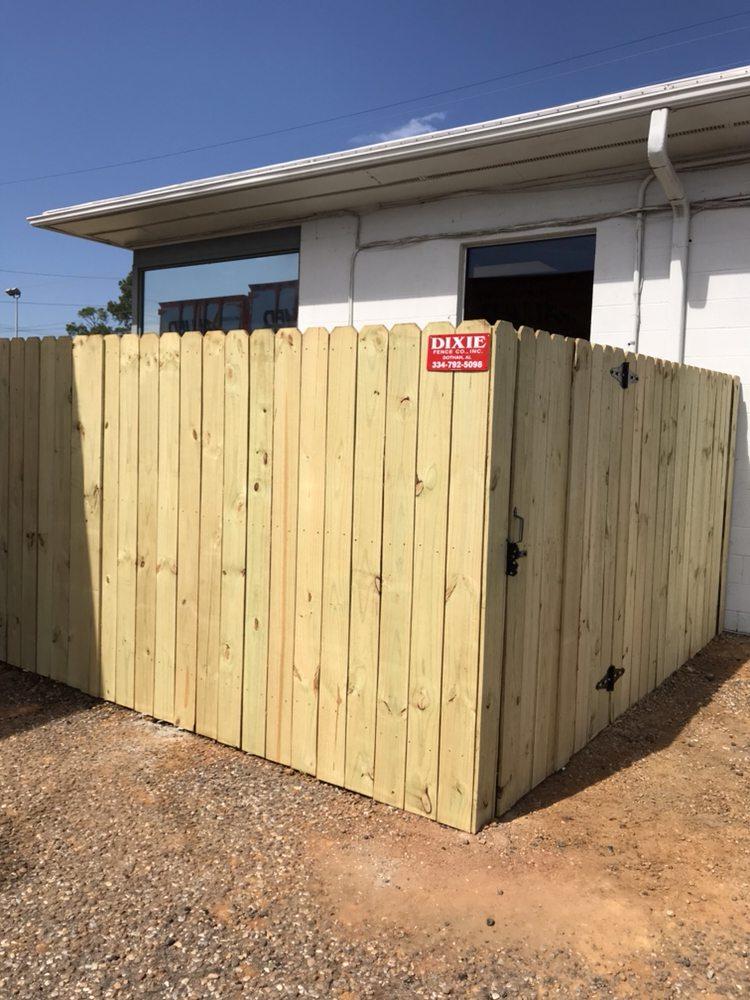 Dixie Fence Company: 122 Loftin Rd, Dothan, AL