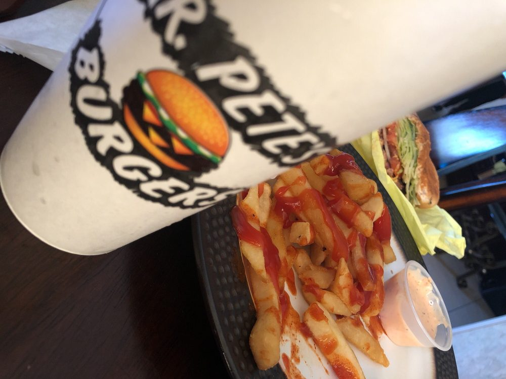Mr Pete's Burgers: 7811 Firestone Blvd, Downey, CA