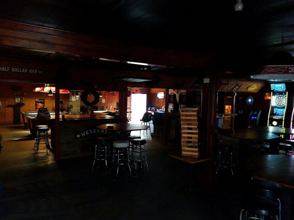 Half Dollar Bar: 22451 Oakley Rd, New Caney, TX