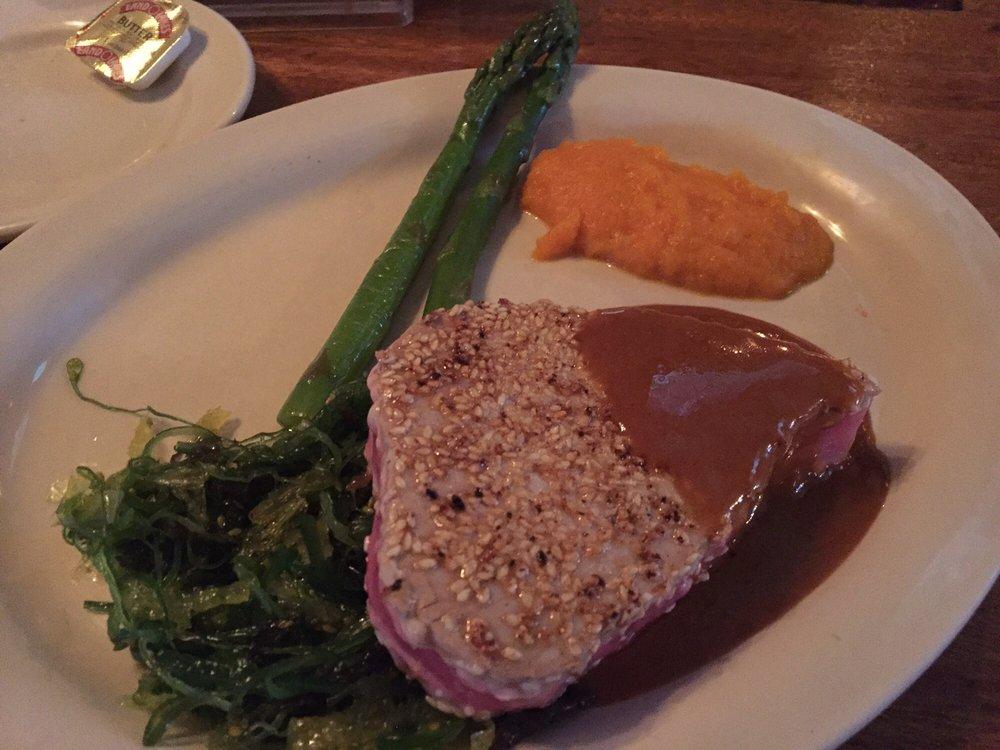 how to cook tuna steak rare