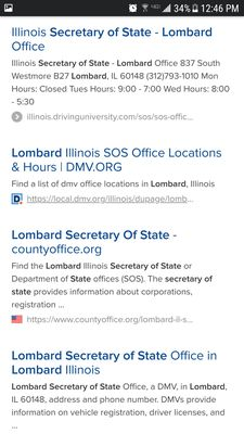 illinois drivers licence facility hours