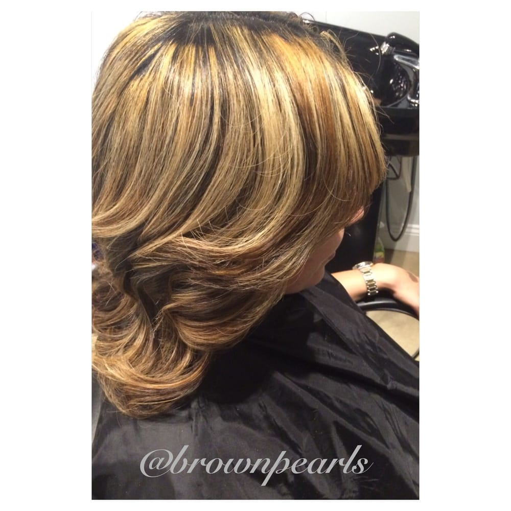 Brown Pearls Blow Dry Bar Extensions 14 Photos Hair Extensions