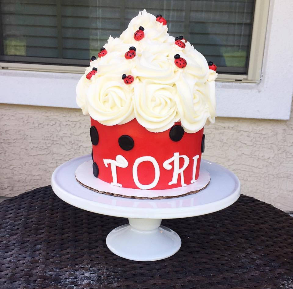Lady Bug Birthday Cake Yelp