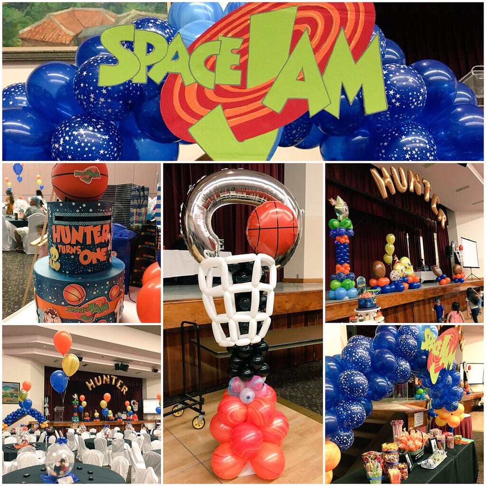 Space Jam Themed 1st Birthday Party By Tec Art Ideas Yelp