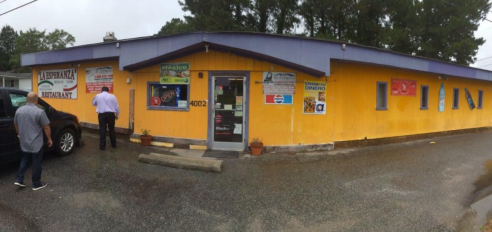 La Esperanza: 4000-4098 W Main St, Williamston, NC