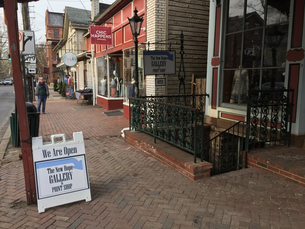 The New Hope Gallery And Print Shop: 20 S Main St, New Hope, PA